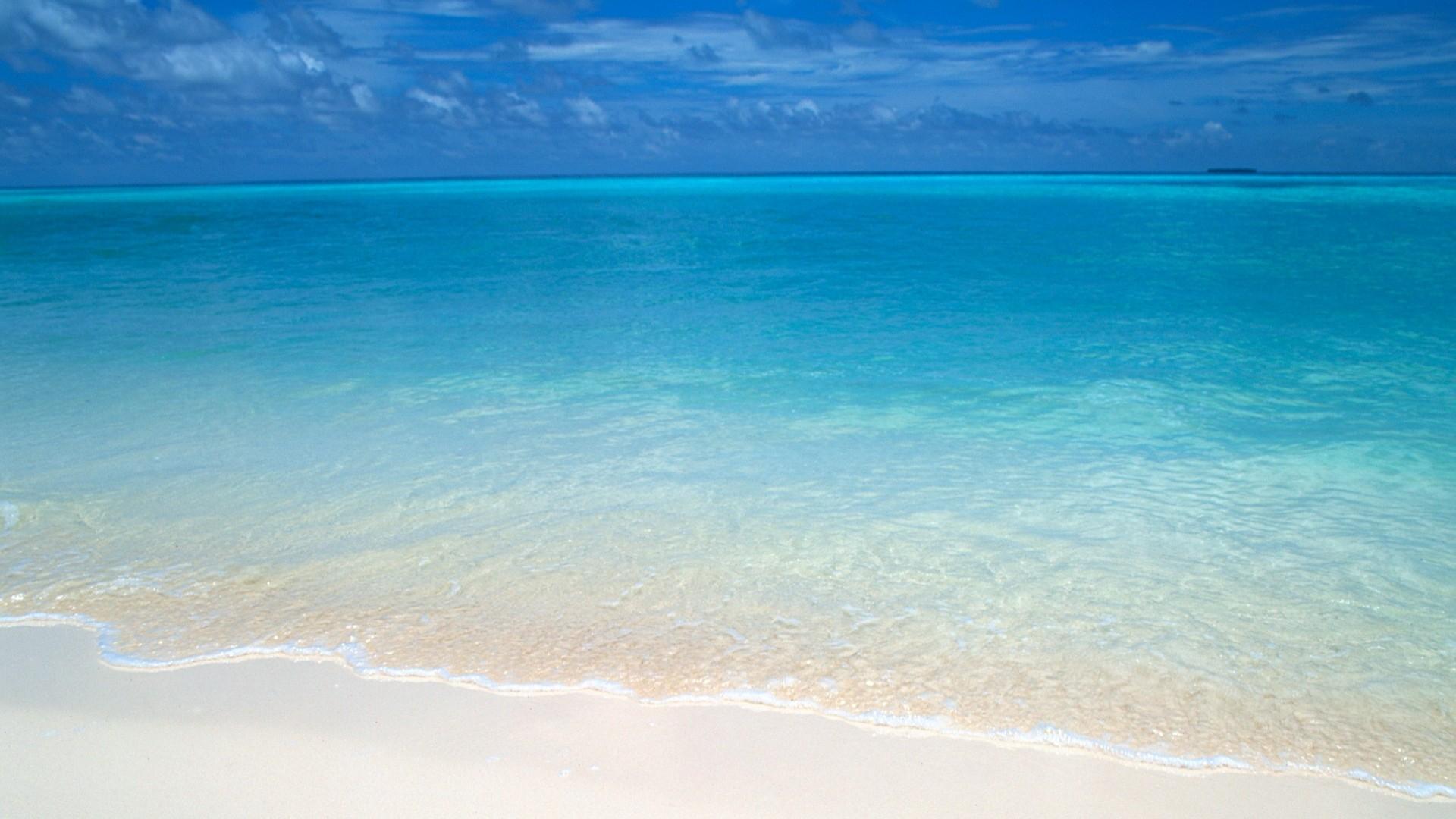 马尔代夫沙滩桌面壁纸