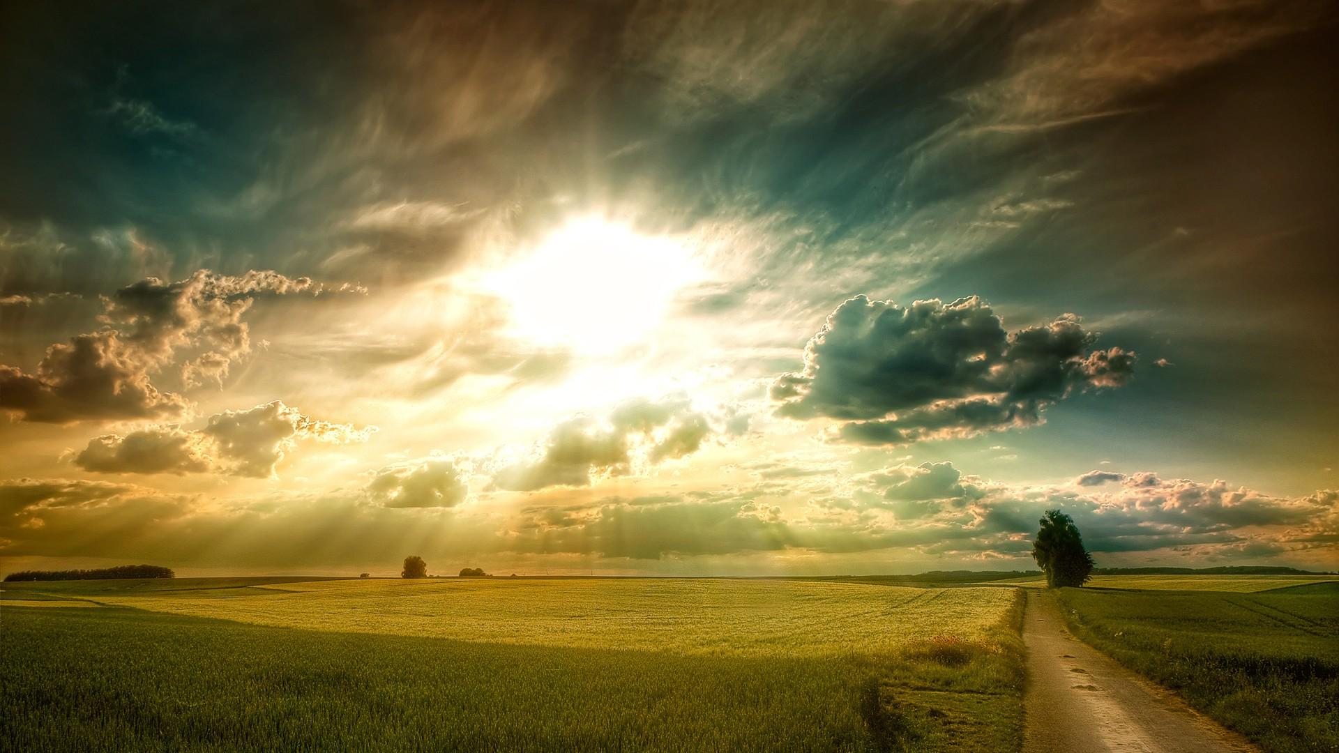 壮观天空唯美高清桌面壁纸