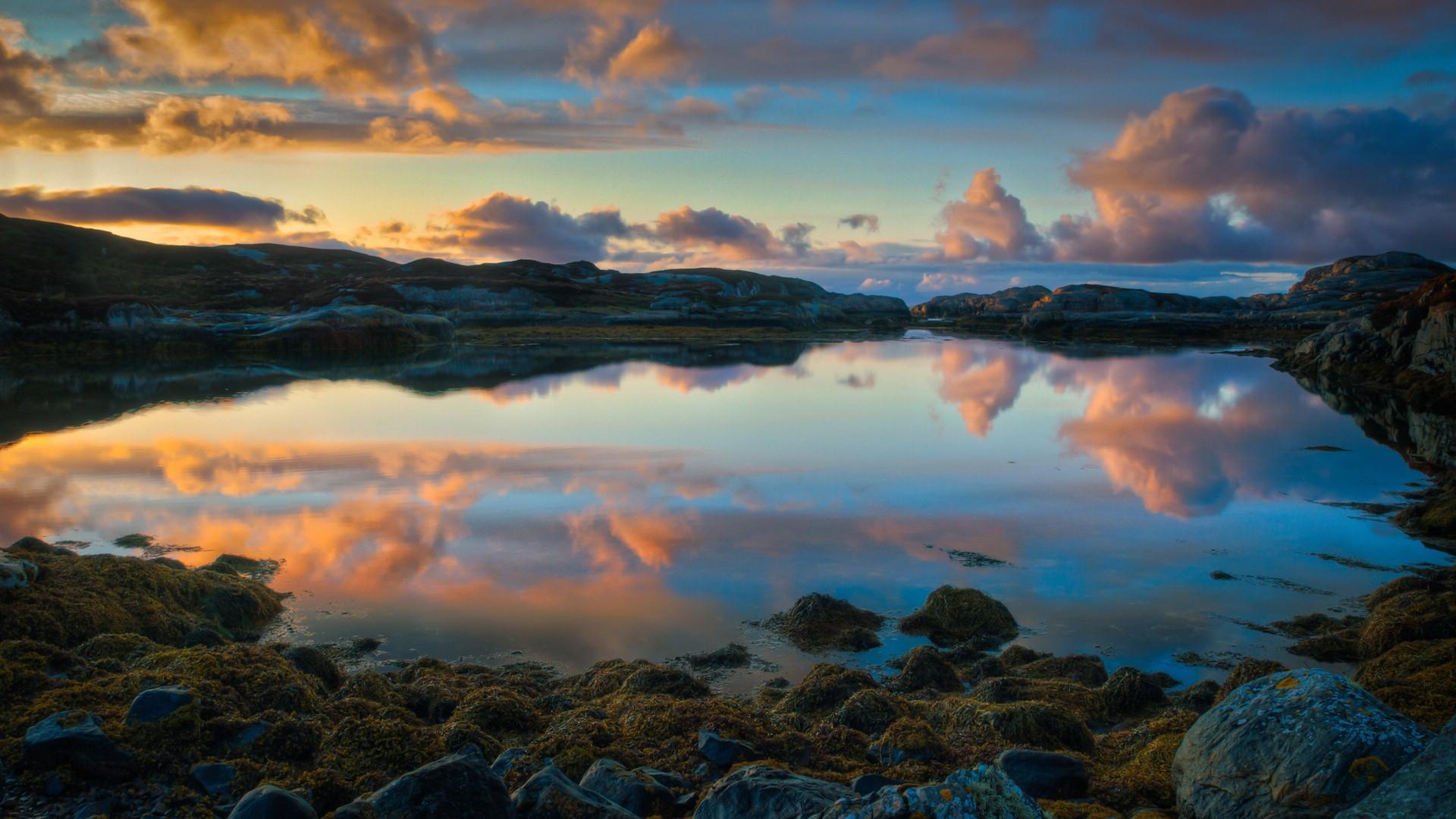 挪威自然美景高清壁纸