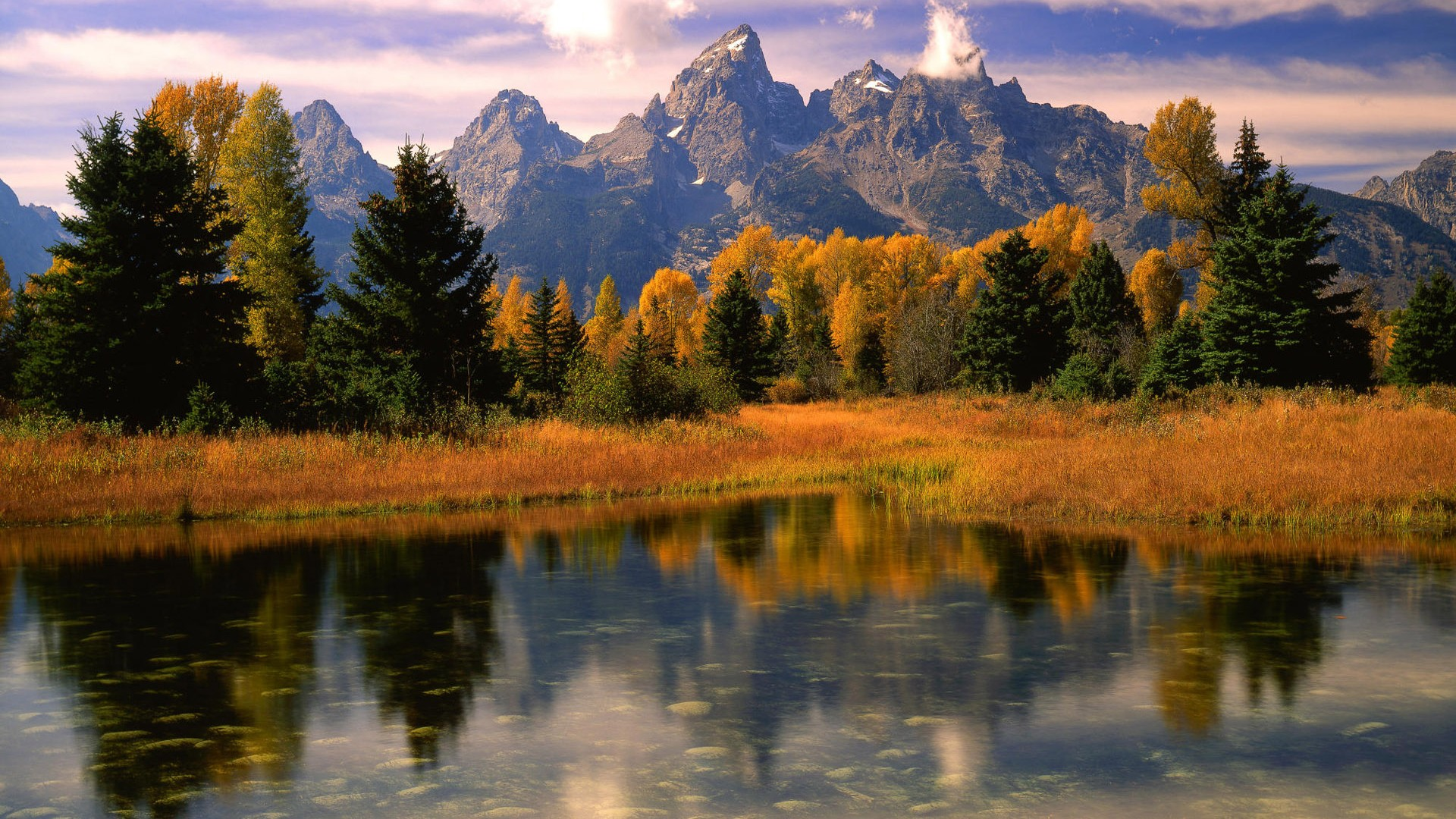 山水如画风景高清桌面壁纸