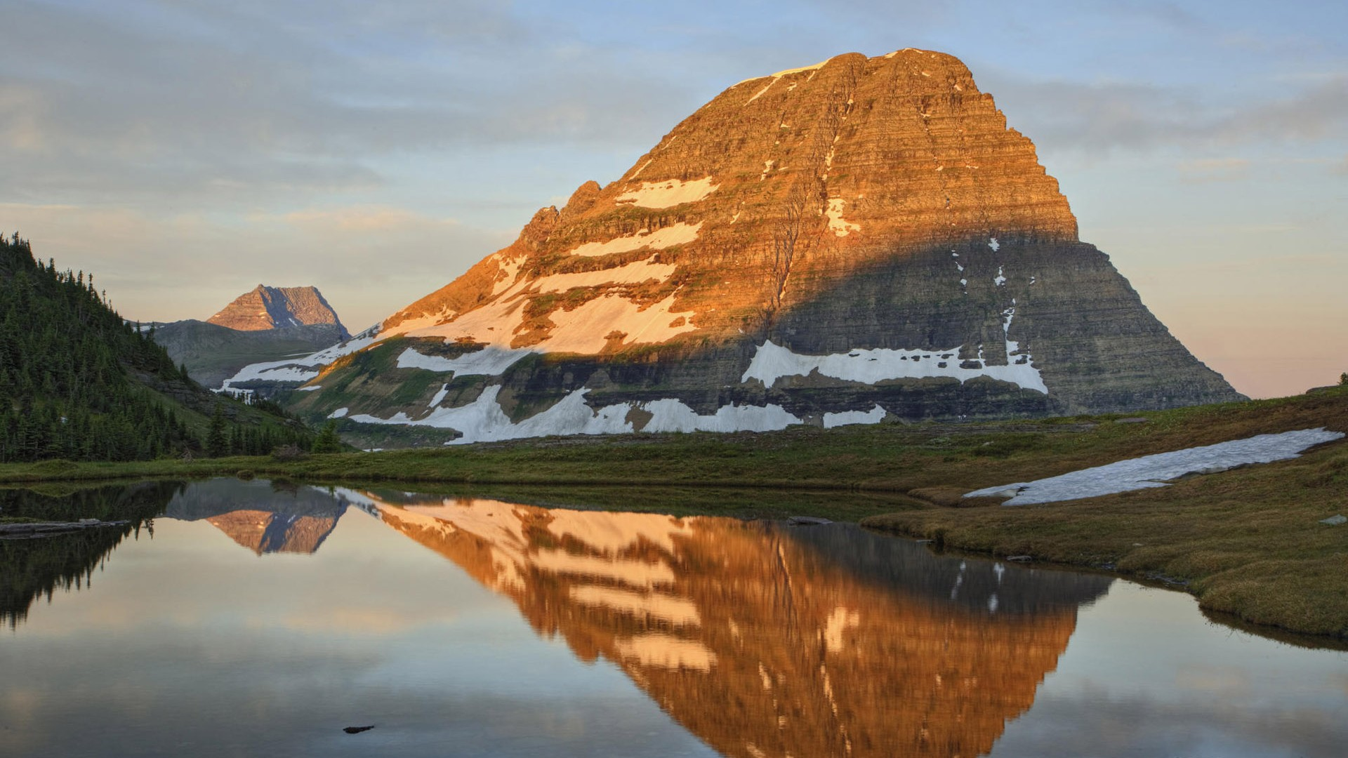 山水如畫風景高清桌面壁紙