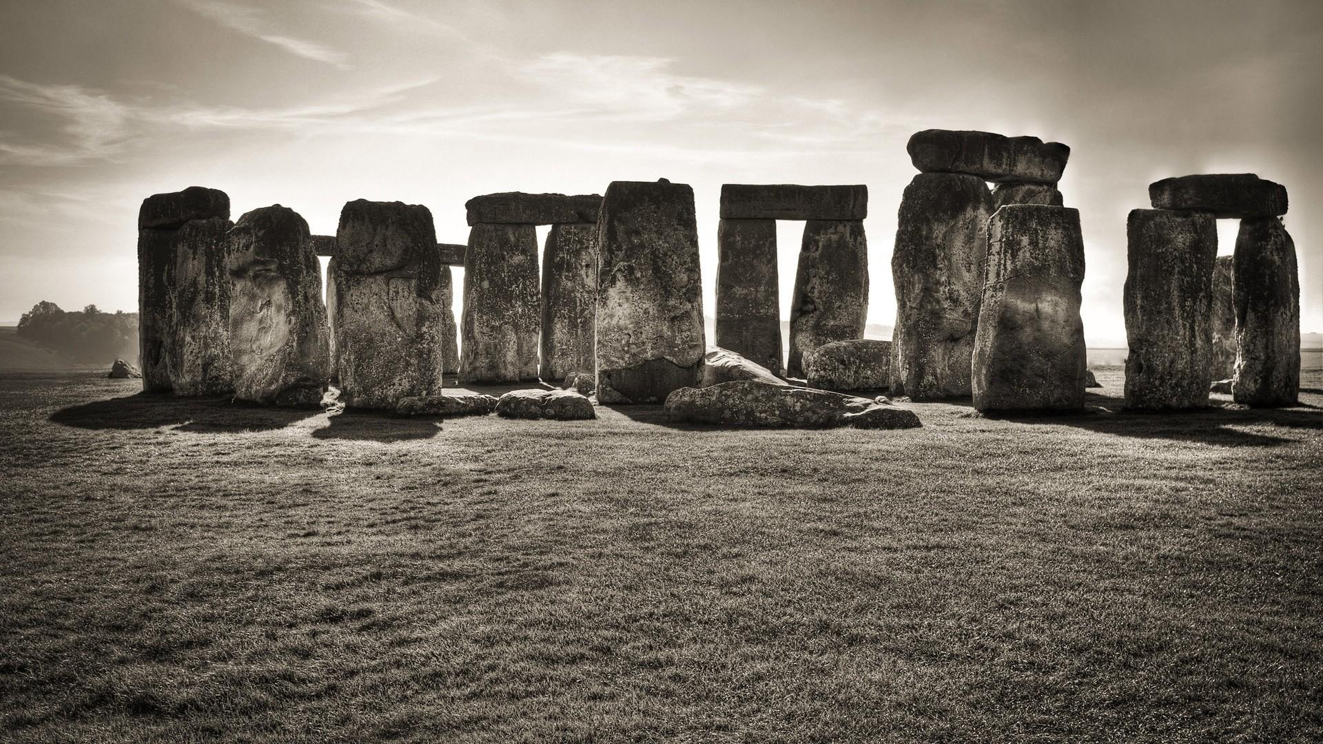英国巨石阵桌面壁纸