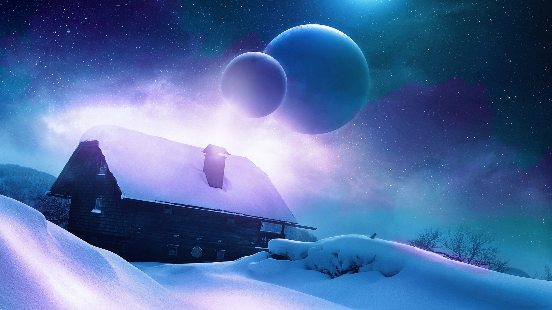 高清太空唯美桌面壁纸