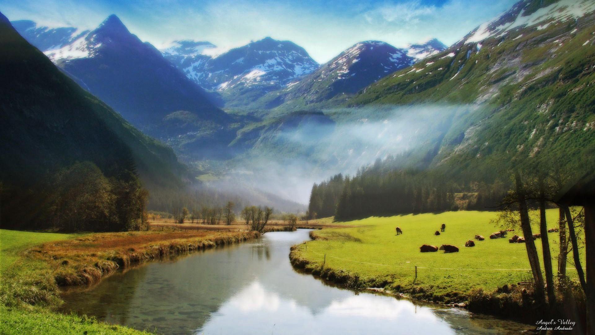 震撼的自然美景桌面壁纸