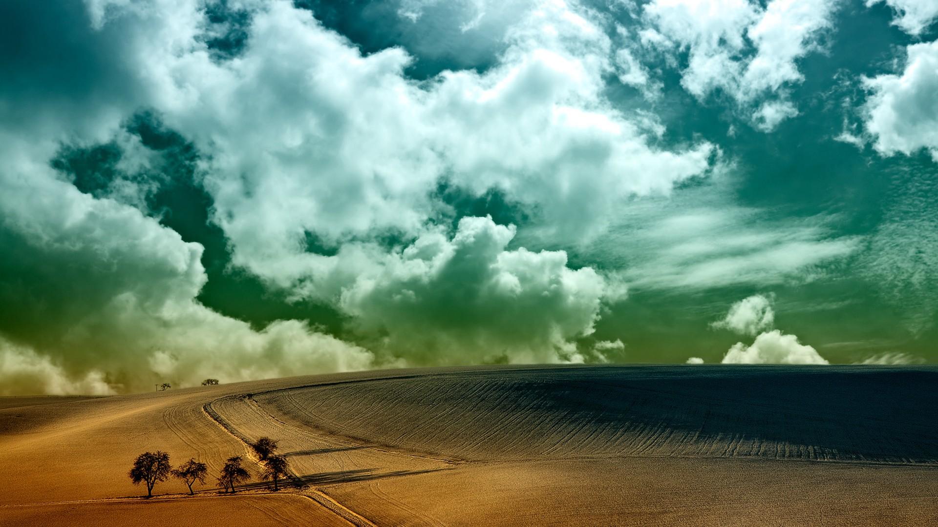 桌面壁纸_高清图片_桌面背景, 蓝天白云唯美风景桌面图片大全1600x900