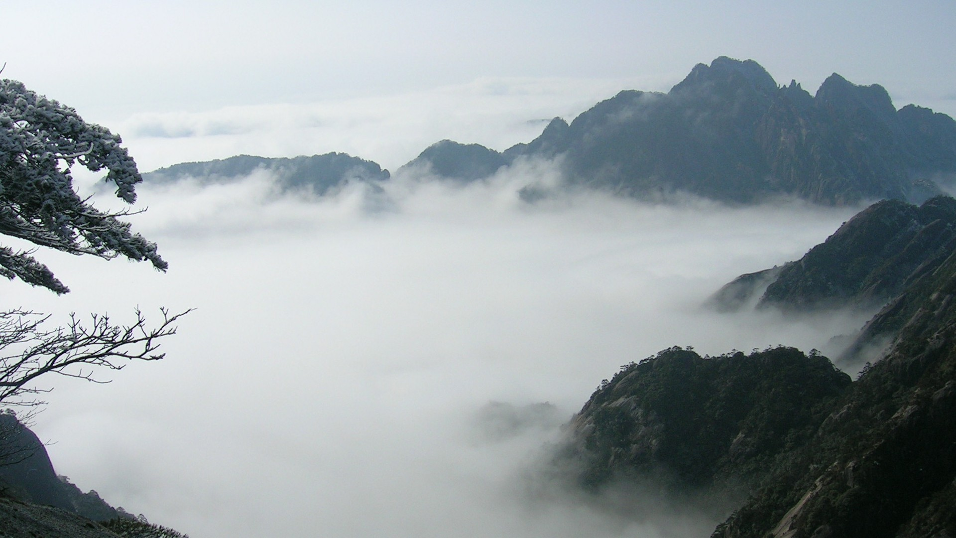 黄山云海高清壁纸