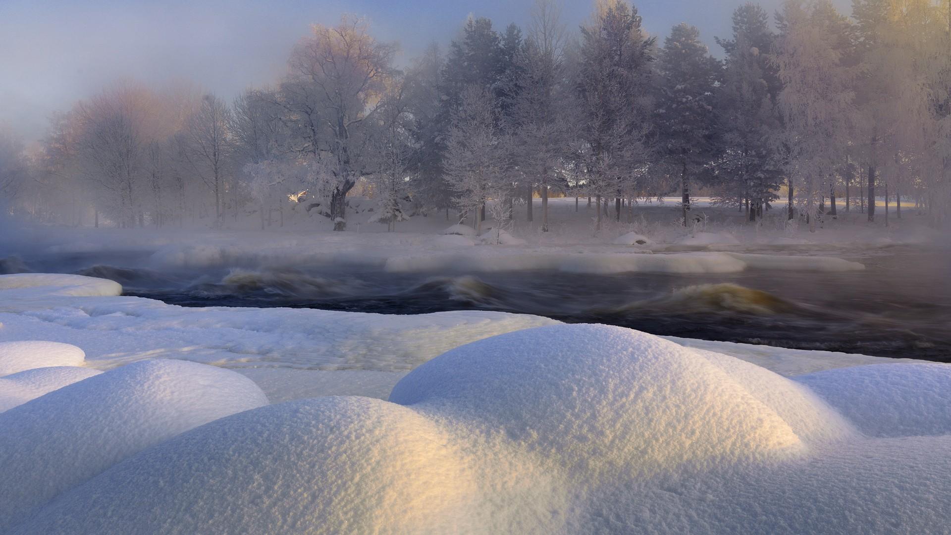 雪景高清壁纸-雪景壁纸高清风景图片_雪景壁纸手机壁纸_唯美雪景高清