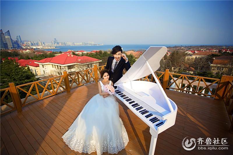 青岛婚纱摄影排行婚车装饰小窍门 高清图片