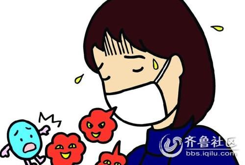 在气候多变的环境下,一些抵抗力或适应性较差的人,很容易患感冒.