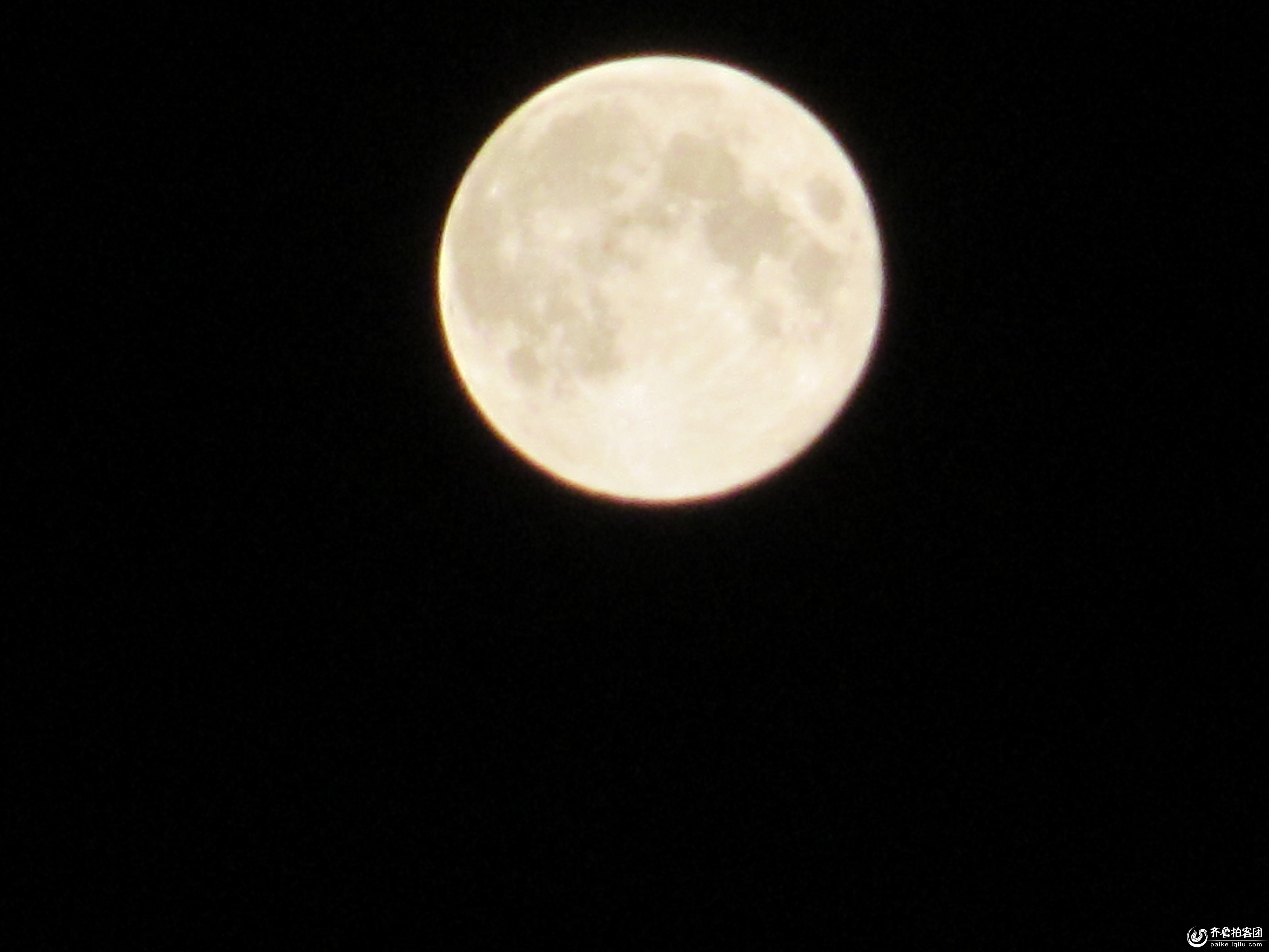 八月十五的月亮 - 日照拍客