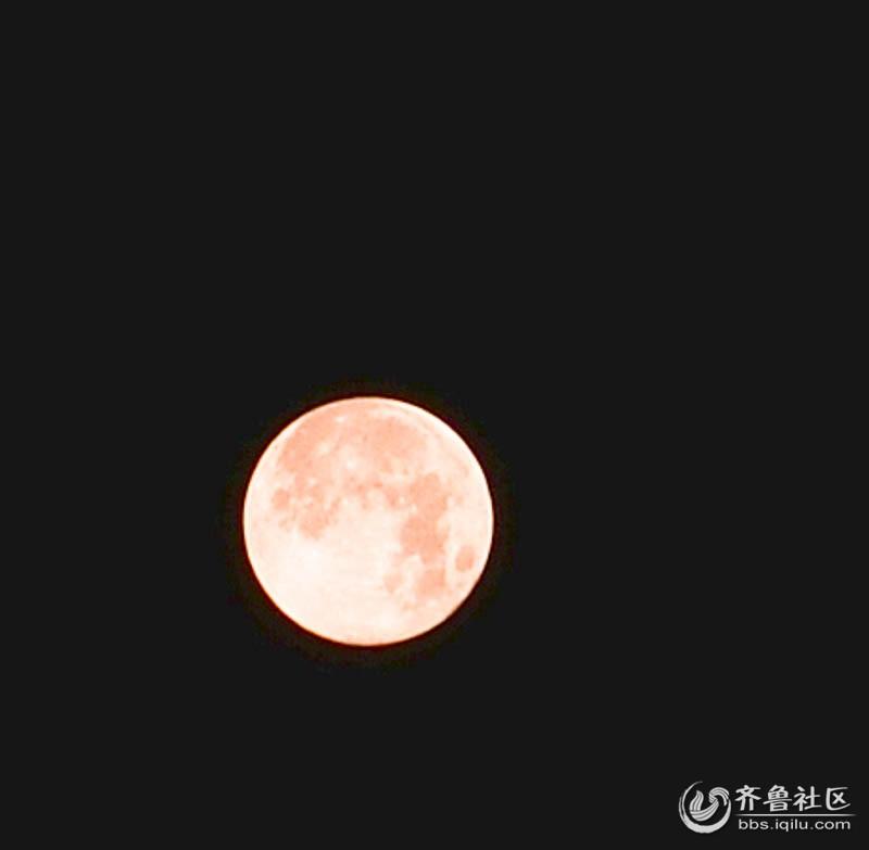 2013年十五的月亮(不同色温的月亮)