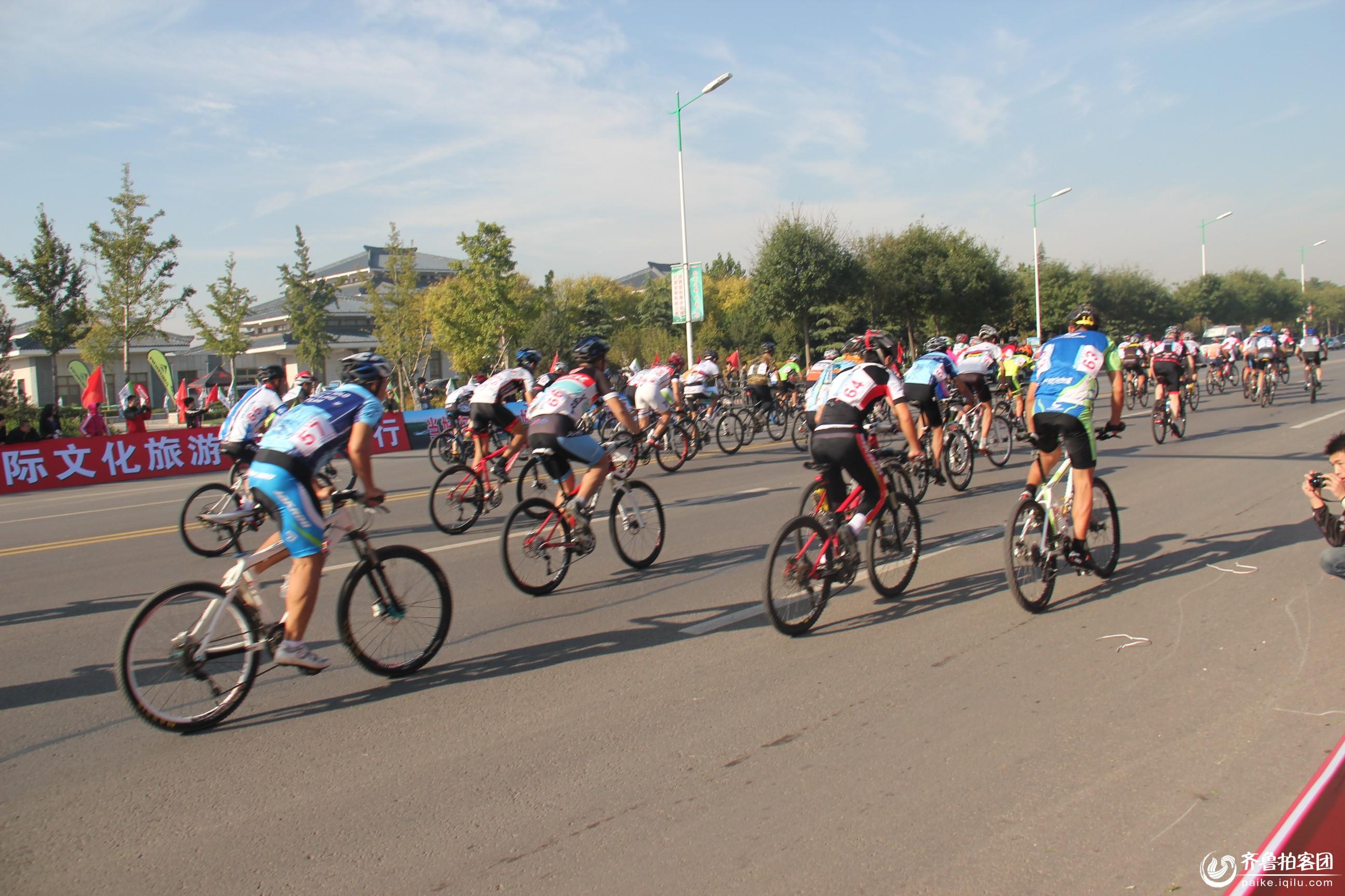 广饶孙子文化旅游节自行车环湖比赛 - 东营拍客
