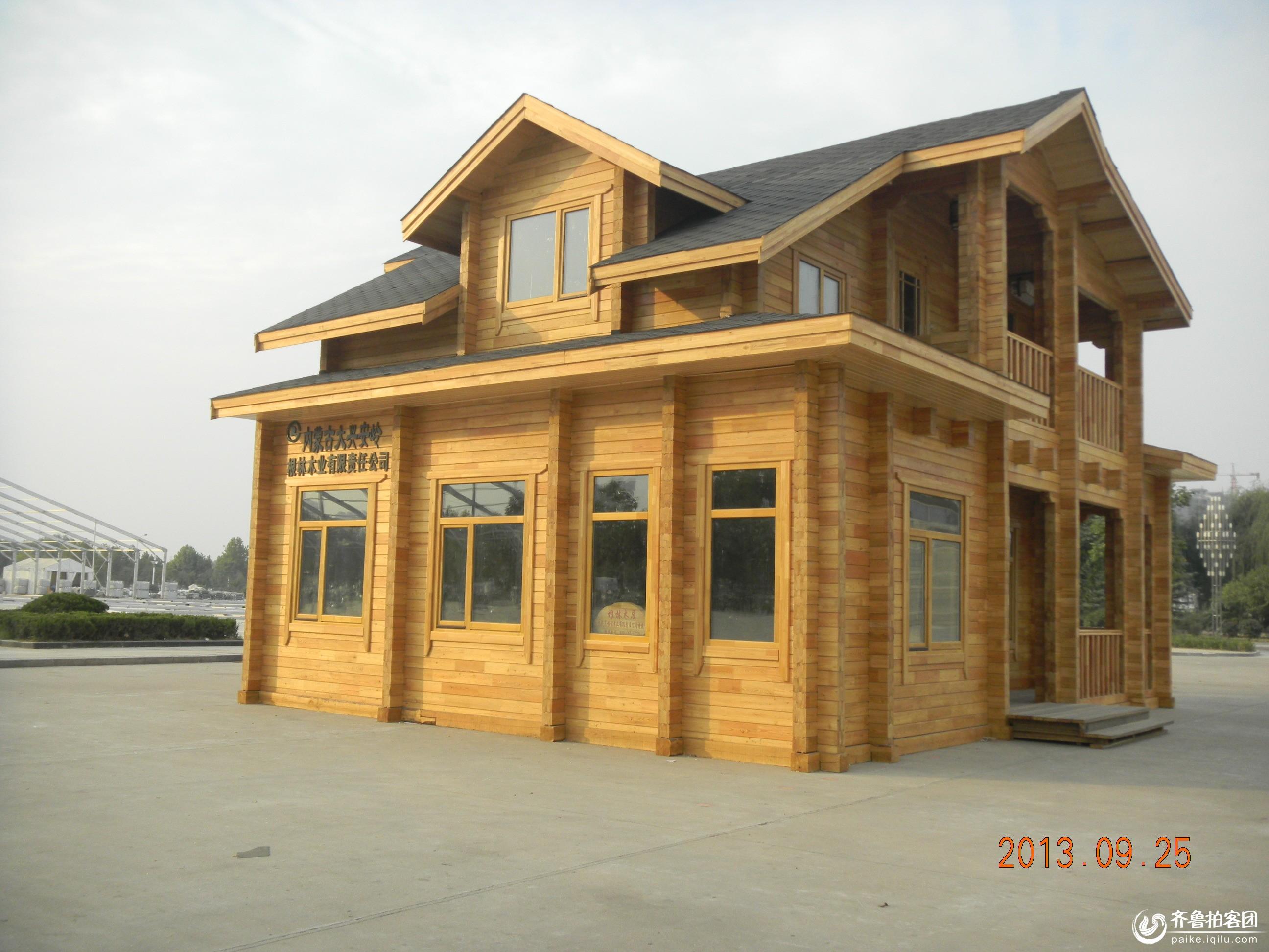漂亮的小木屋 - 菏泽拍客