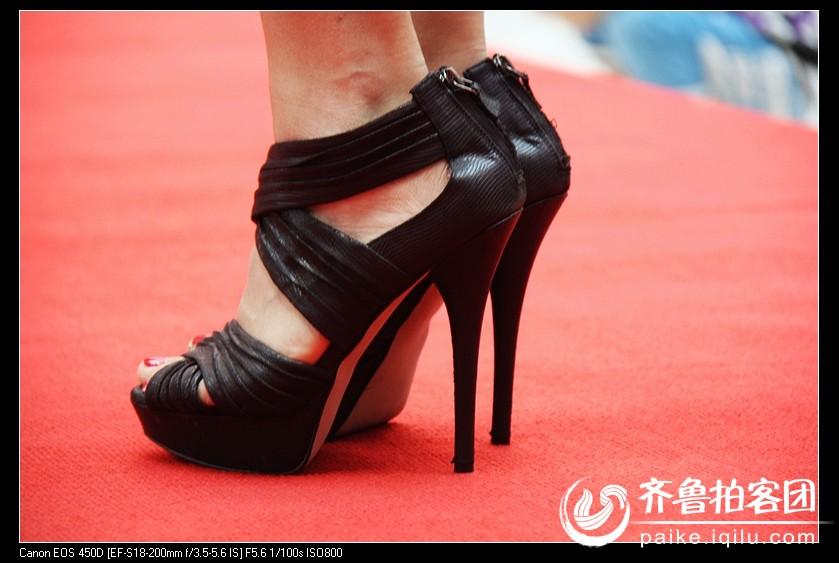 模特的高跟鞋