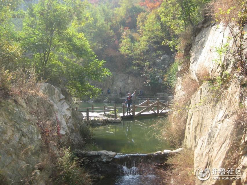 一节,绿色骑行九如山瀑布群风景区
