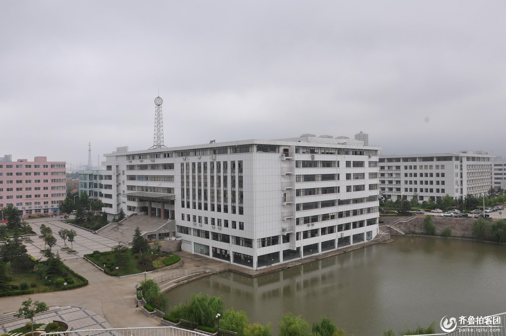 青岛恒星学院俯视图