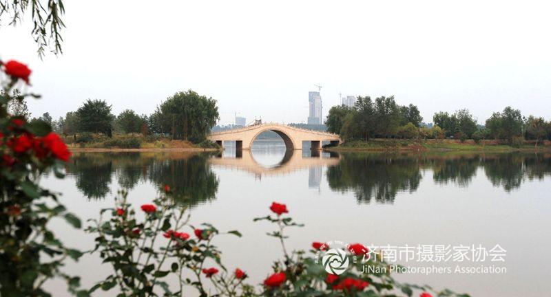 济阳澄波湖风光
