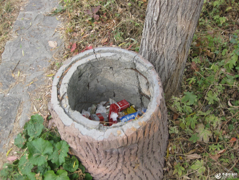 个性的垃圾桶