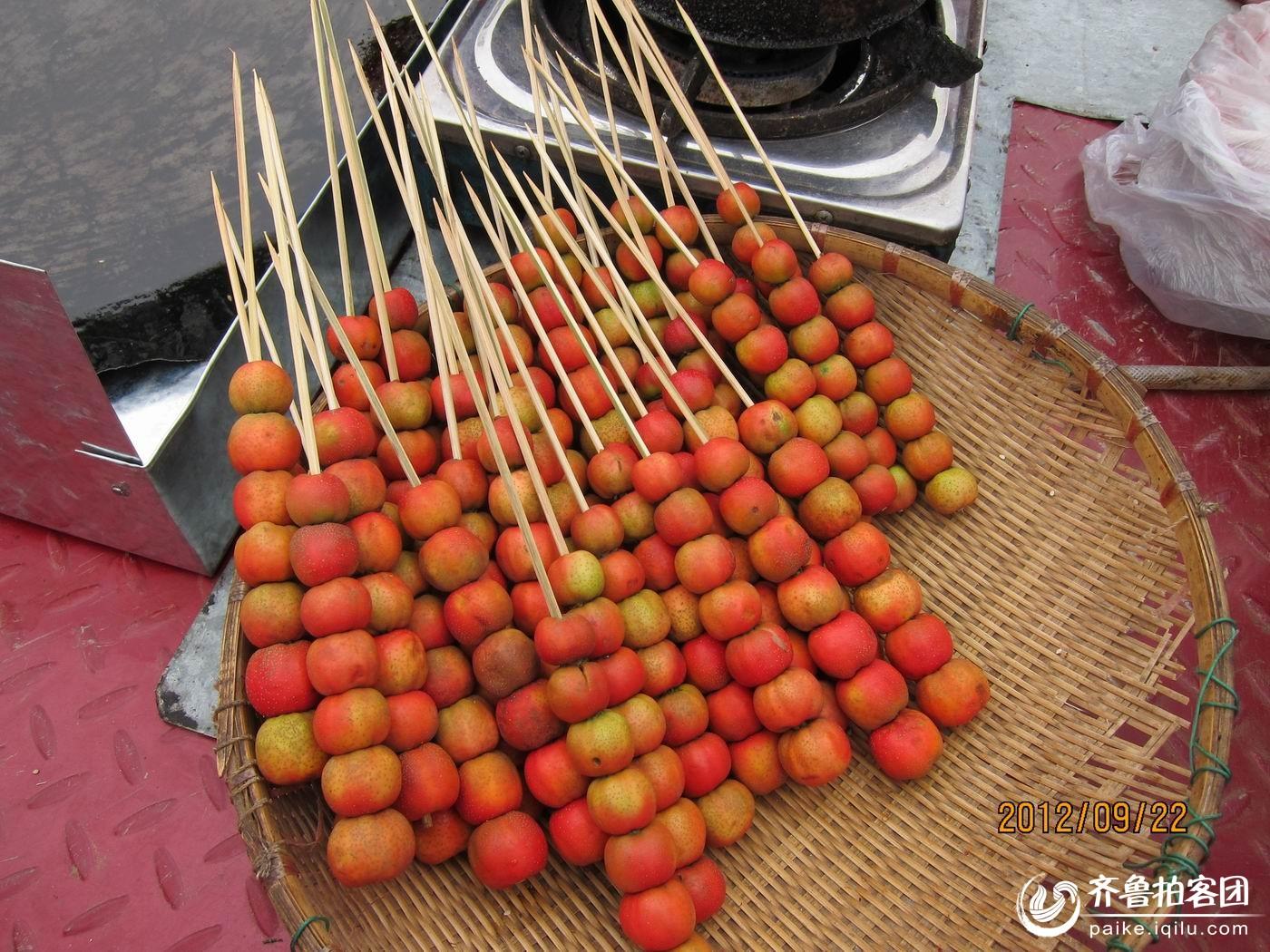 北京糖葫芦的制作过程