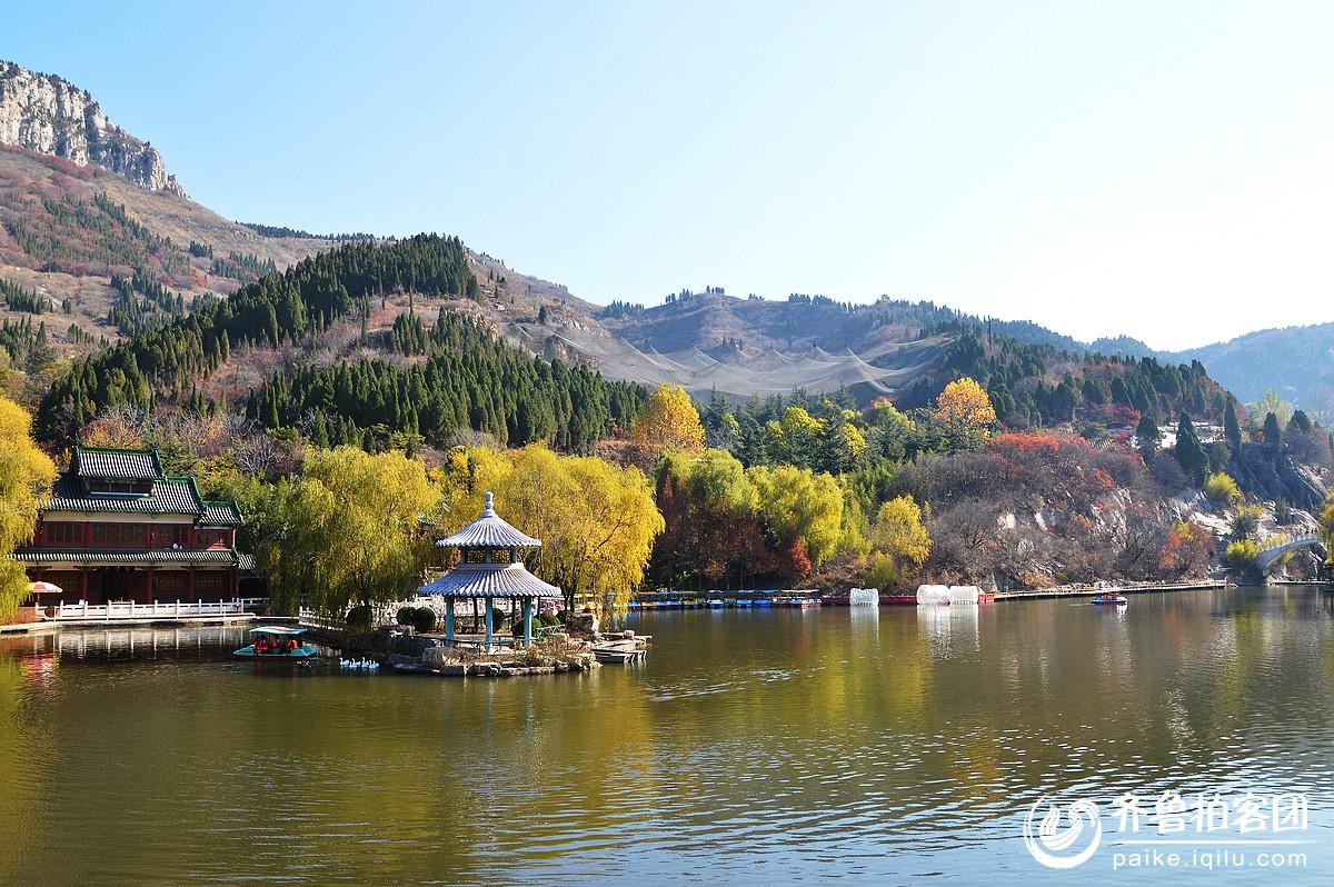 初冬的济南红叶谷 - 济宁拍客