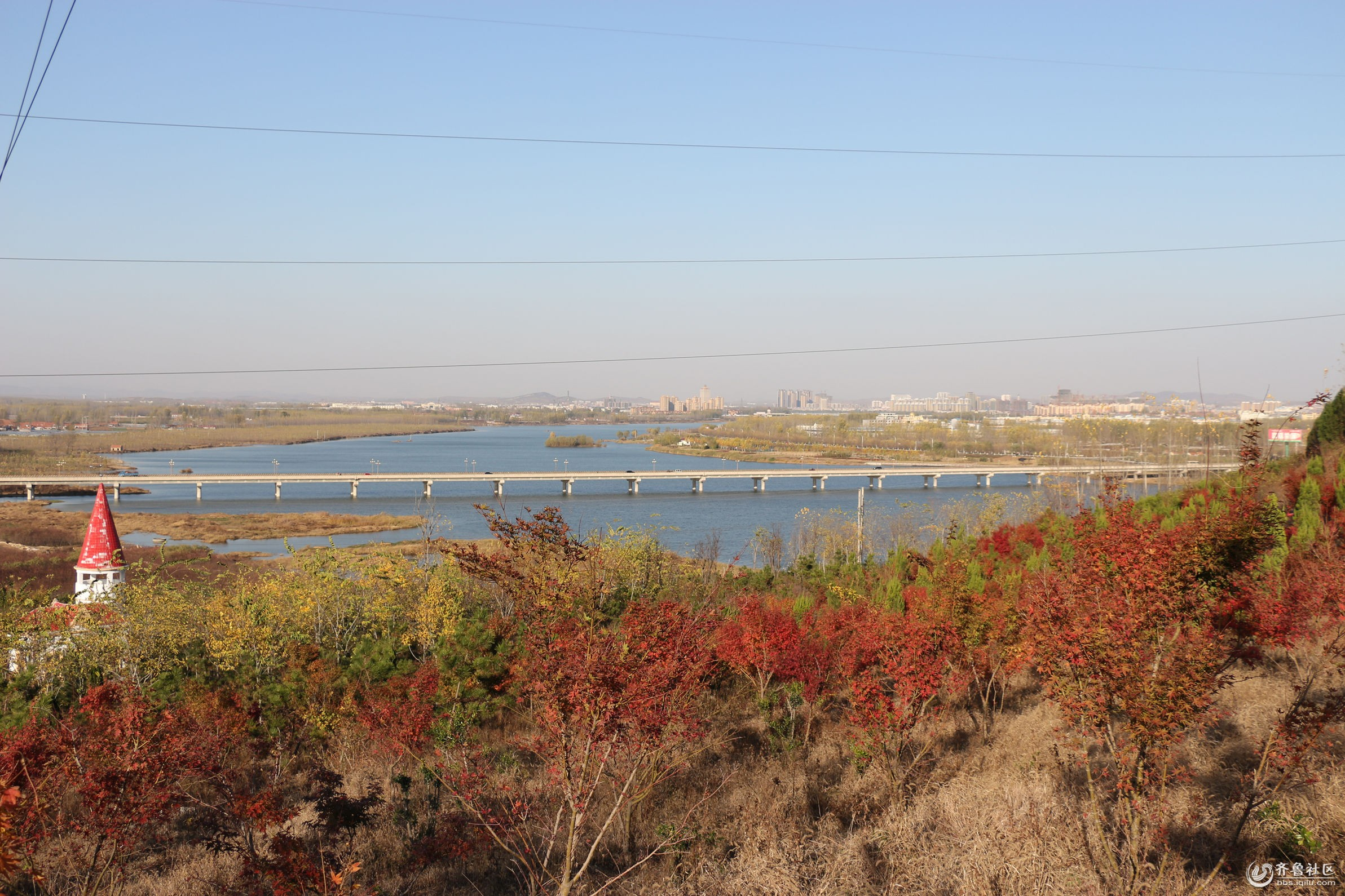 灌南县沂河淌风景