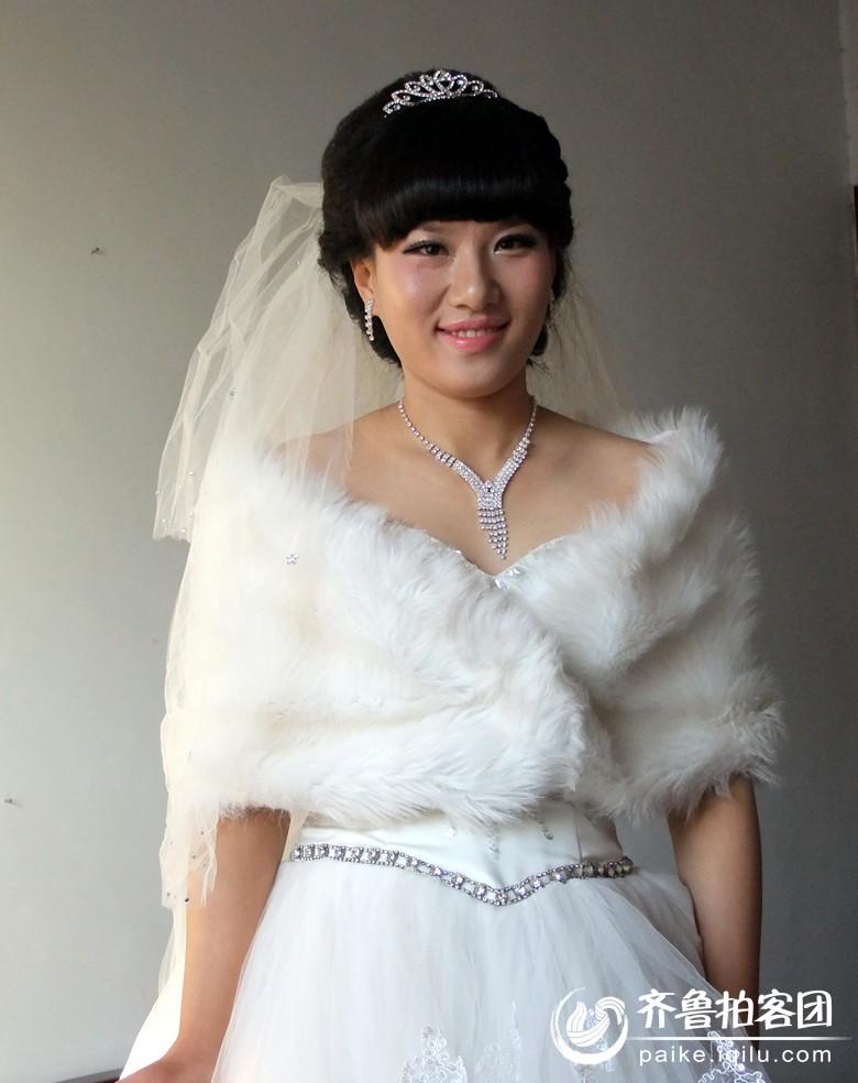 美女新娘 枣庄拍客