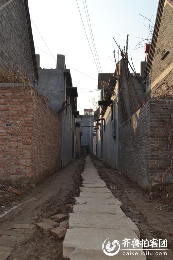 农村新修的下水道