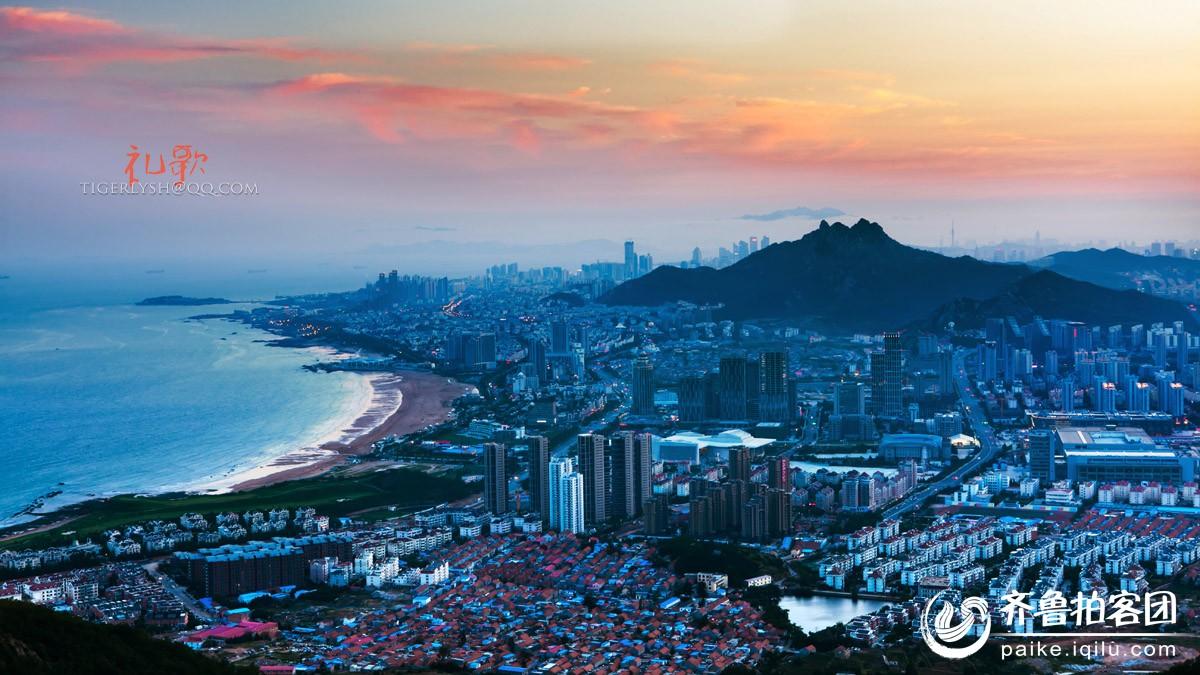 午山远眺 - 青岛拍客 - 齐鲁社区 - 山东最大的城市