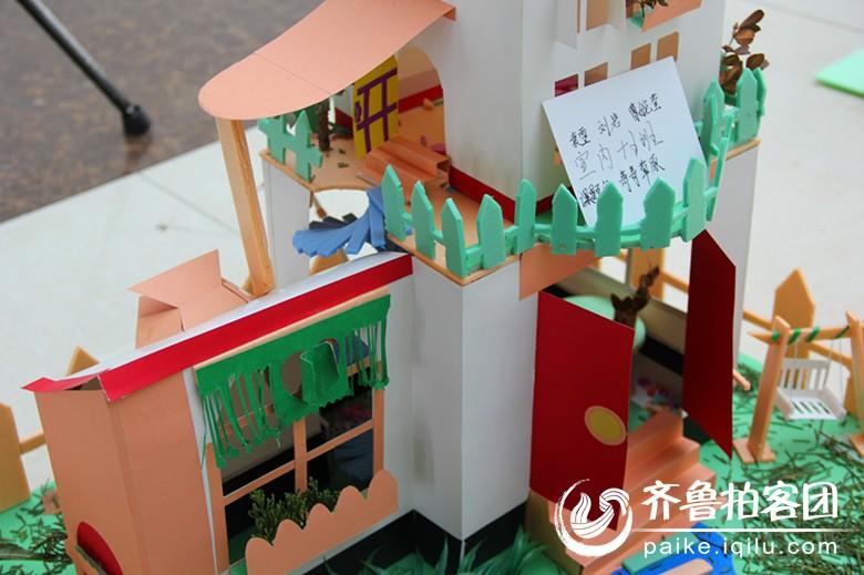 【藝術設計學院室內設計十五班立體構成作品展!】