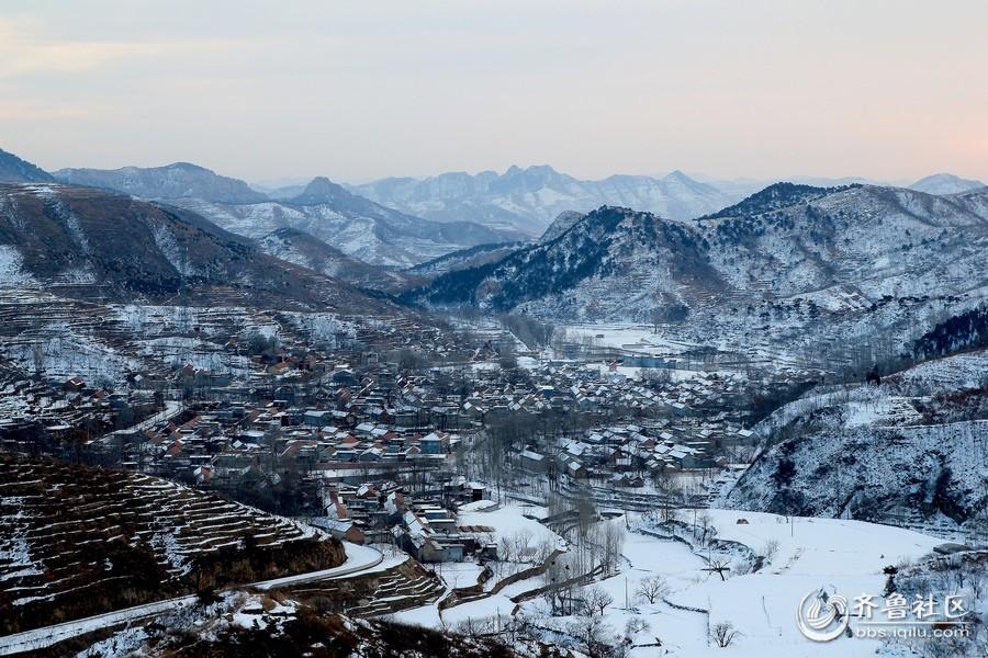 【济南的冬天】大山里的冬天也很美