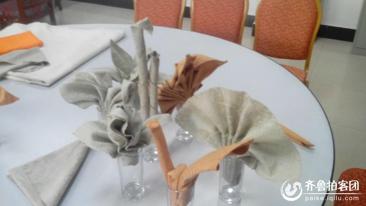 中餐杯花餐巾折花大观园