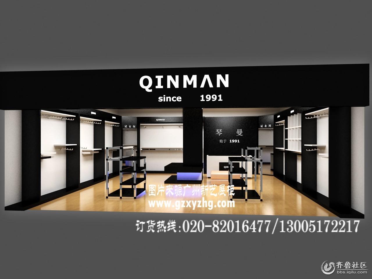 最新鞋店装修设计效果,香港鞋店专卖店展柜