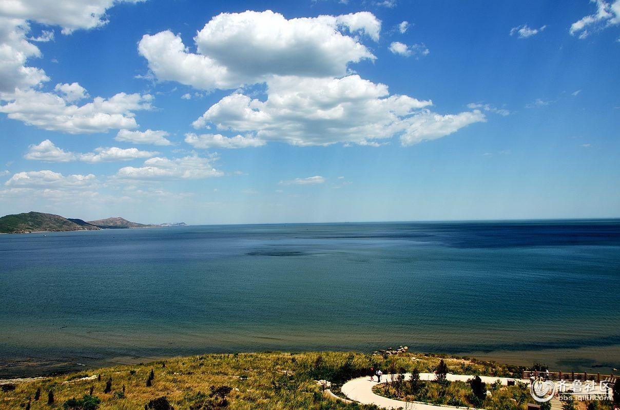 葫芦岛龙湾海滨美景