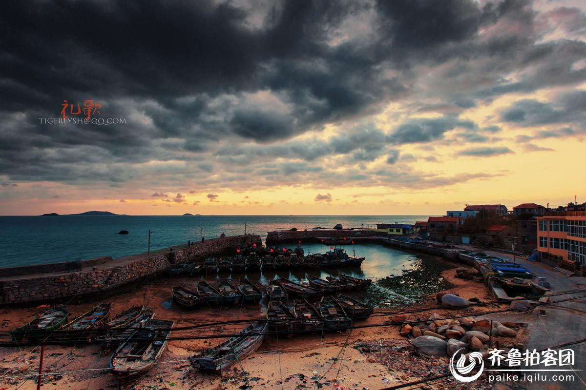 雕龙嘴渔港的早晨 - 青岛拍客 - 齐鲁社区 - 山东最大