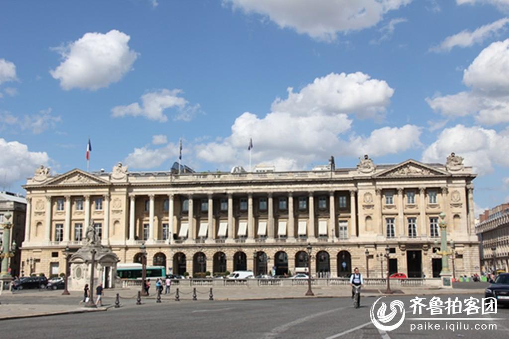 巴黎的欧式建筑