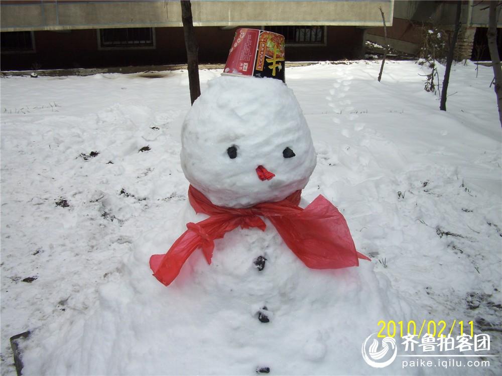 小雪人 - 济宁拍客 - 齐鲁社区