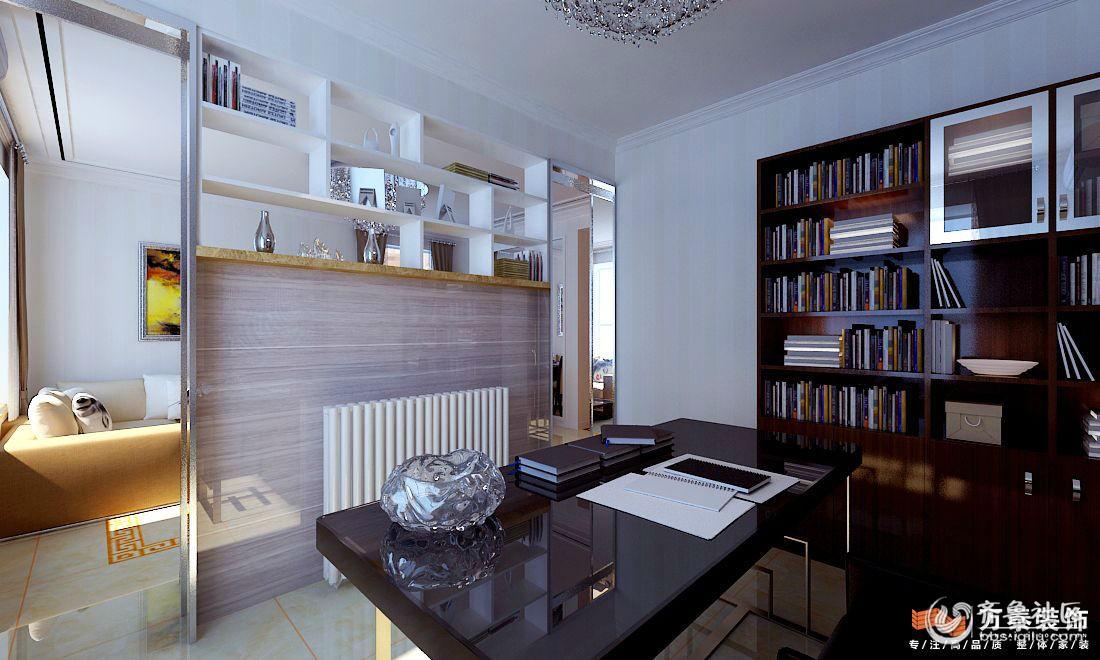 中央公园复式2室2厅2卫现代简约风格装修案例效果图6.jpg