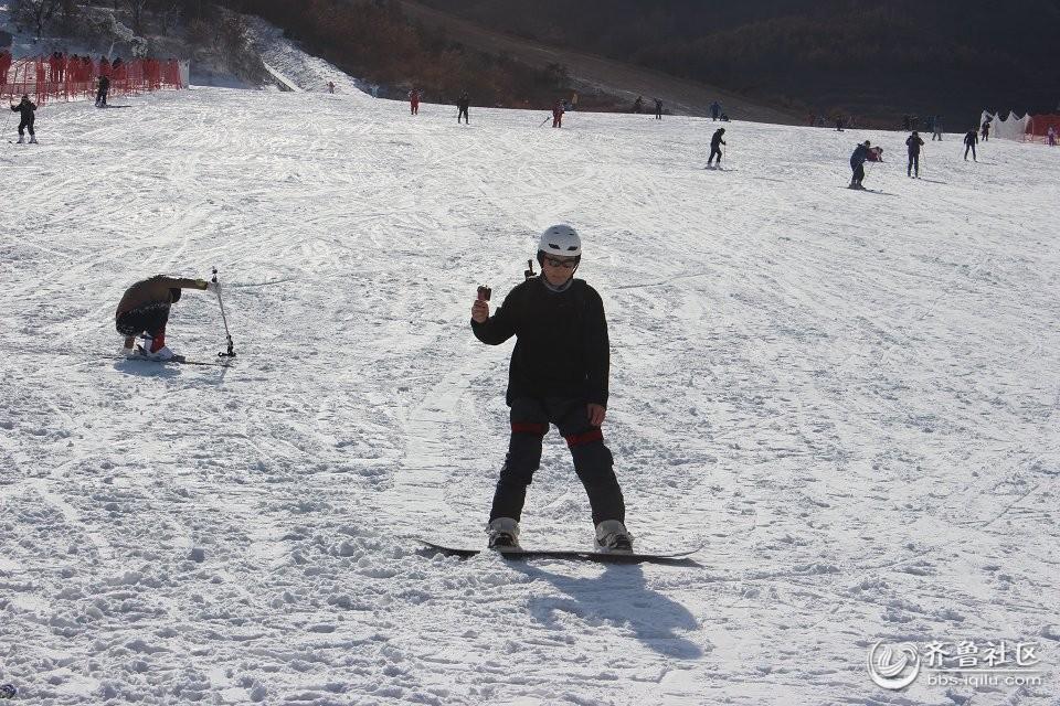 林山滑雪场烟台户外