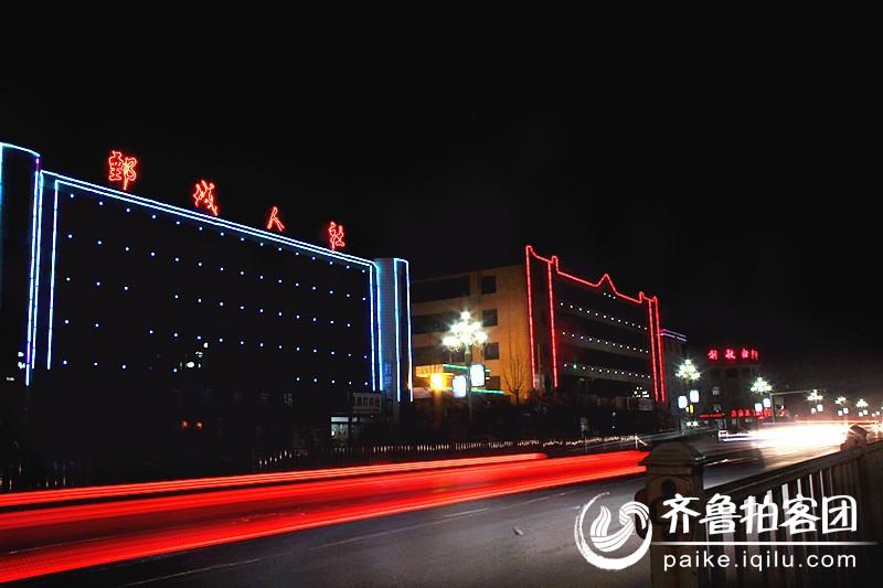 新年街道夜景最新图库 上海街道夜景 城市街道夜景图片