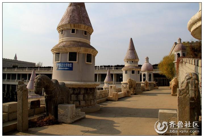 马文化博物馆是一个欧式城堡建筑