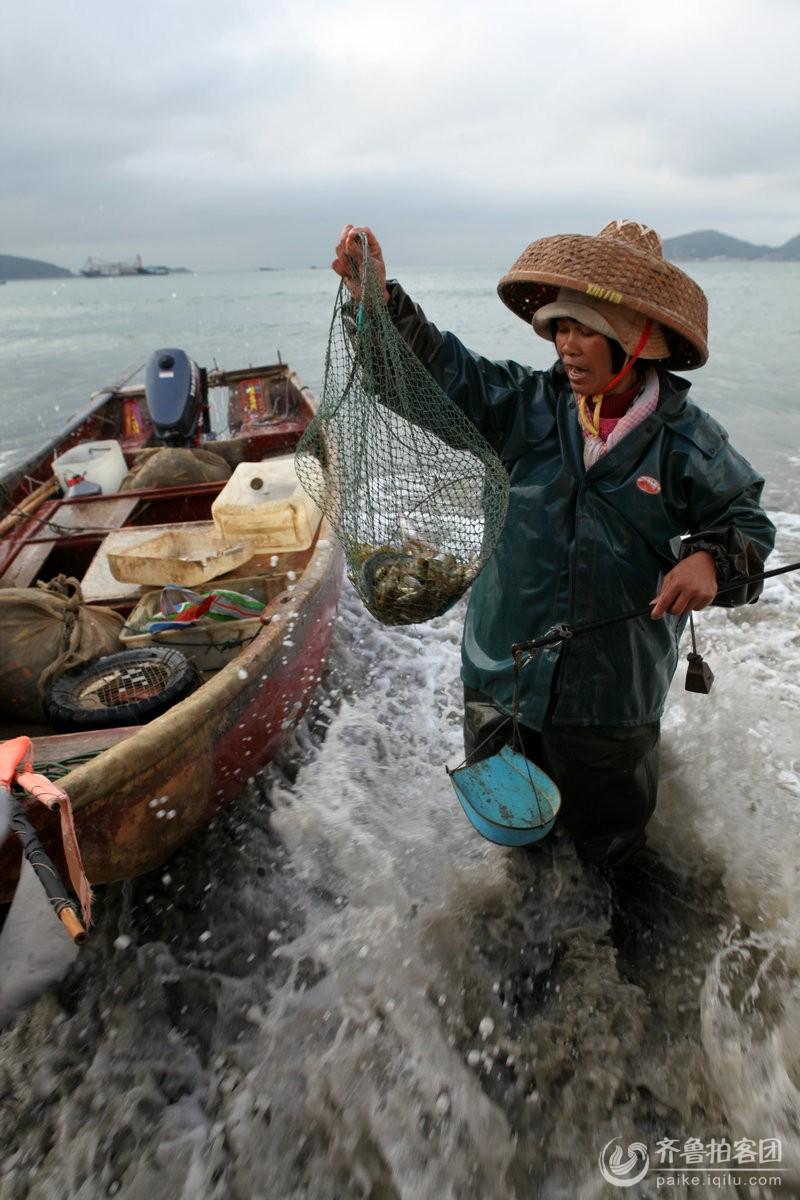 初五下川岛捕鱼归来 - 济南拍客 - 齐鲁社区 - 山东最