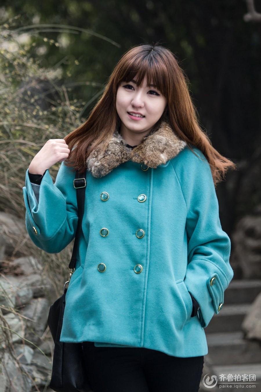 青衣女子组照 - 滨州拍客