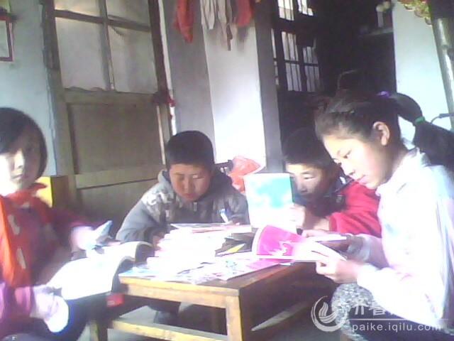 热爱学习的山区孩子们