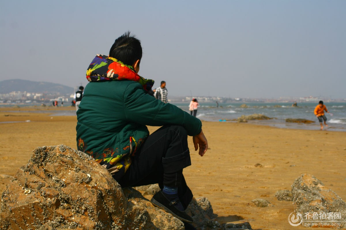 海边背影 - 日照拍客 - 齐鲁社区 - 山东最大的城市