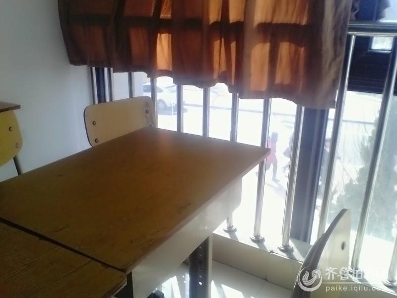 豪华欧式桌椅教室