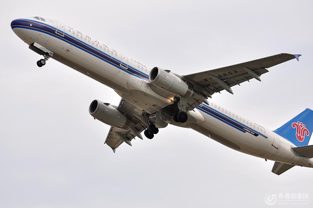 飞机起飞 - 济南拍客