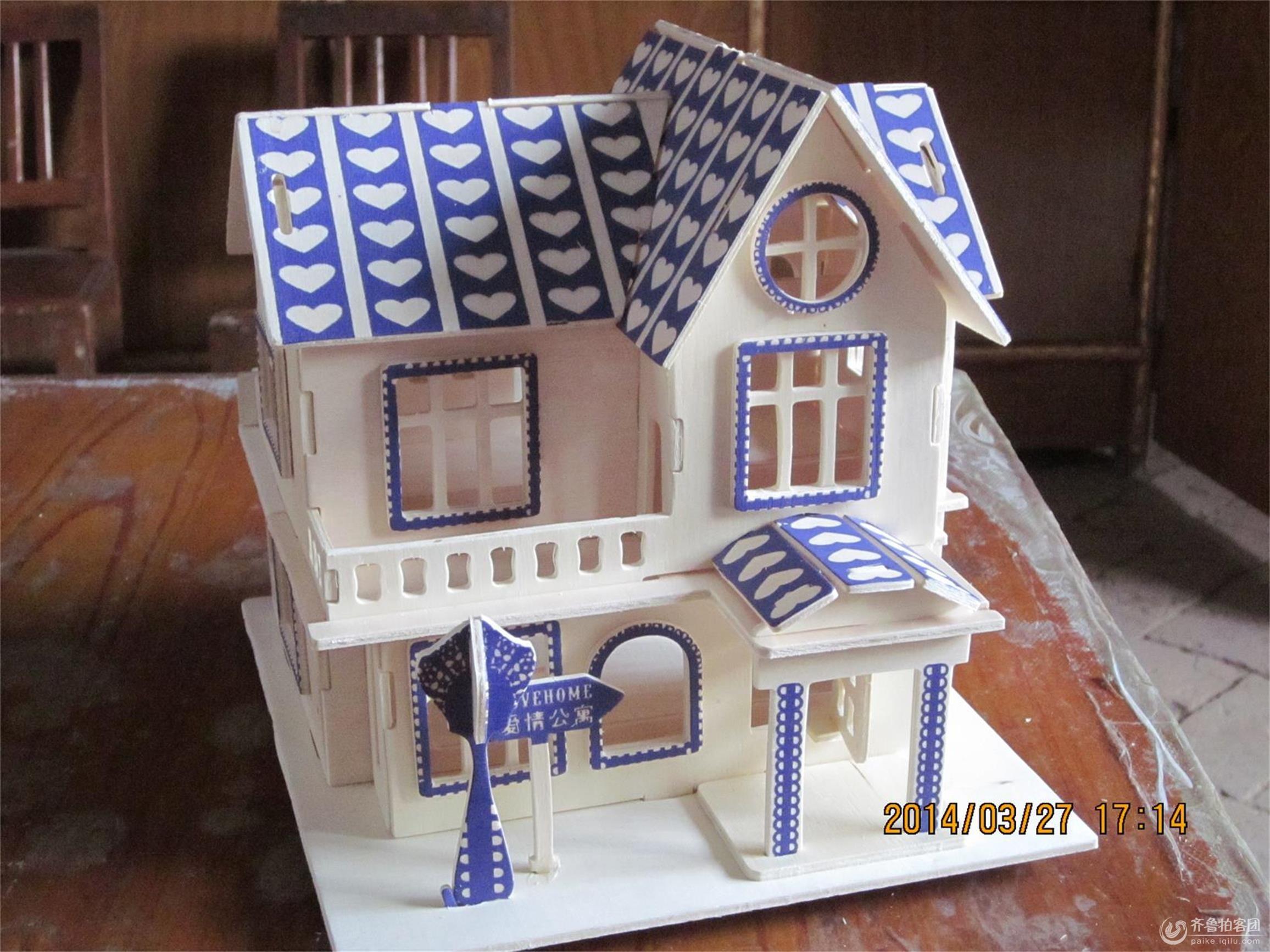 木制手工拼装模型