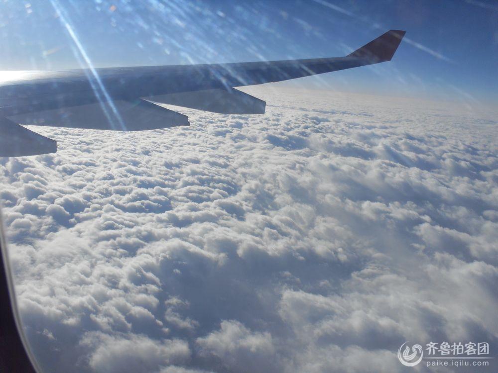 飞机上拍云 - 烟台拍客