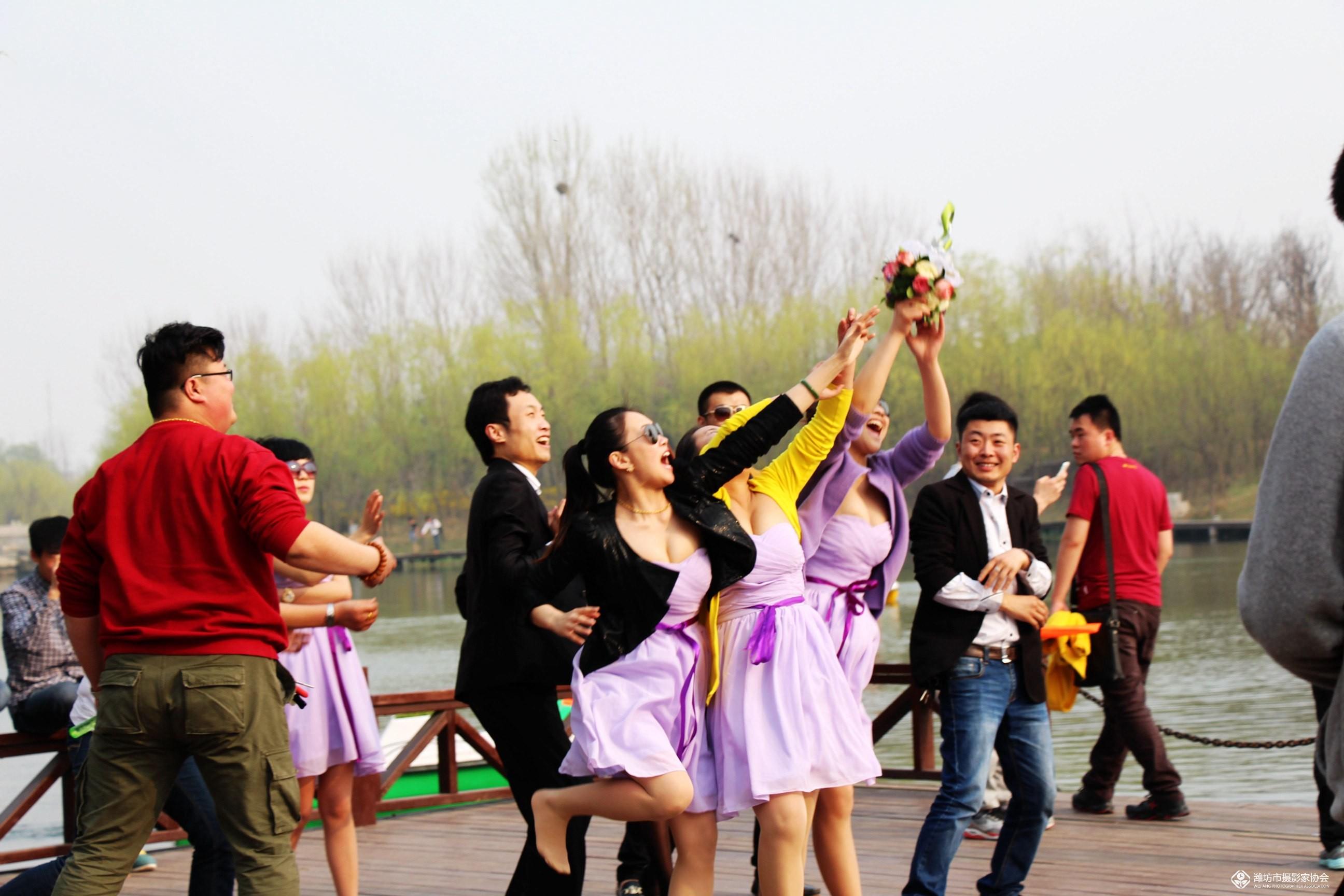湿地公园拍美女 潍坊专区