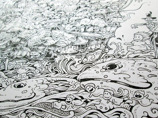 宫崎骏动画手绘 - 汇天下